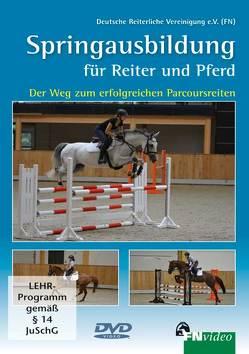 Springausbildung für Reiter und Pferd von Bödicker,  Georg-Christoph, Johannsmann,  Heinrich-Wilhelm, Lutter,  Fritz