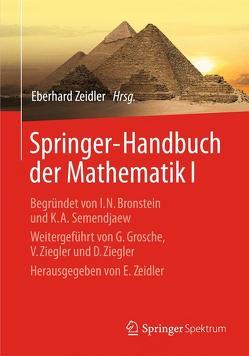 Springer-Handbuch der Mathematik I von Zeidler,  Eberhard