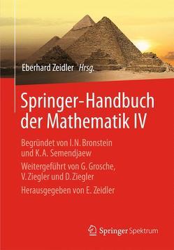 Springer-Handbuch der Mathematik IV von Zeidler,  Eberhard