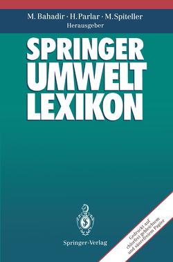 Springer Umweltlexikon von Bahadir,  Müfit, Parlar,  Harun, Spiteller,  Michael, Töpfer,  K.