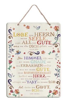 Spruchtafel »Lobe den Herrn, meine Seele«