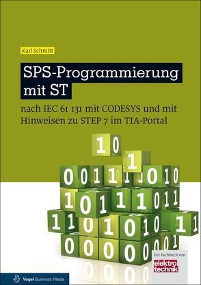 SPS-Programmierung mit ST von Schmitt,  Karl
