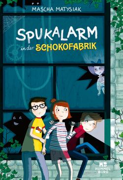 Spukalarm in der Schokofabrik von Matysiak,  Mascha, Parciak,  Monika