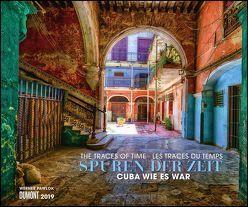Spuren der Zeit 2019 – Verlassene Orte – Lost Places – Kuba Havanna – Foto-Wandkalender 58,4 x 48,5 cm von DUMONT Kalenderverlag, Pawlok,  Werner
