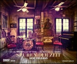 Spuren der Zeit 2020 – Verlassene Orte – Lost Places – New Orleans – Foto-Wandkalender 58,4 x 48,5 cm von DUMONT Kalenderverlag, Pawlok,  Werner