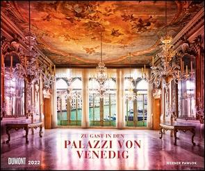 Spuren der Zeit 2022 ‒ Die Palazzi von Venedig ‒ The palaces of Venice ‒ Foto-Wandkalender 58,4 x 48,5 cm von Pawlok,  Werner