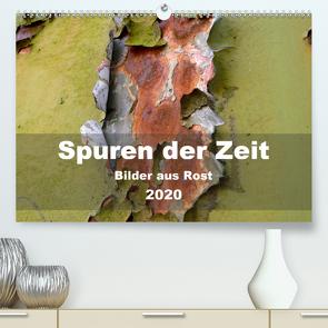 Spuren der Zeit – Bilder aus Rost (Premium, hochwertiger DIN A2 Wandkalender 2020, Kunstdruck in Hochglanz) von Hilmer-Schröer + Ralf Schröer,  B.