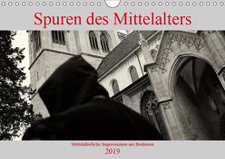 Spuren des Mittelalters (Wandkalender 2019 DIN A4 quer) von Riedmiller,  Andreas