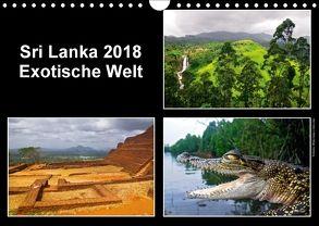 Sri Lanka 2018 – Exotische Welt (Wandkalender 2018 DIN A4 quer) von © Mirko Weigt,  Fotos, Hamburg,  k.A.