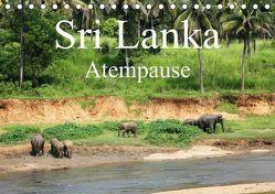 Sri Lanka Atempause (Tischkalender 2019 DIN A5 quer) von Cavcic,  Ivan, Popp,  Diana