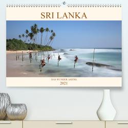 Sri Lanka Das Wunder Asiens (Premium, hochwertiger DIN A2 Wandkalender 2021, Kunstdruck in Hochglanz) von Brack,  Roland