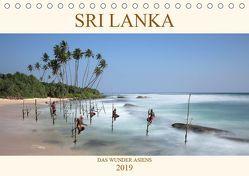 Sri Lanka Das Wunder Asiens (Tischkalender 2019 DIN A5 quer) von Brack,  Roland