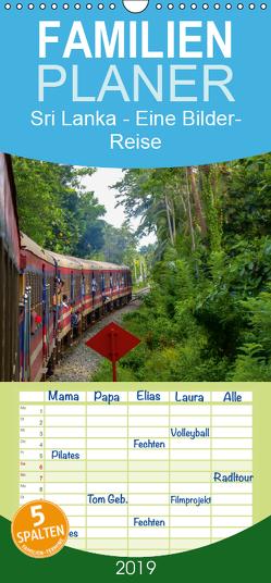 Sri Lanka – Eine Bilder-Reise – Familienplaner hoch (Wandkalender 2019 , 21 cm x 45 cm, hoch) von Heinrich,  Sebastian