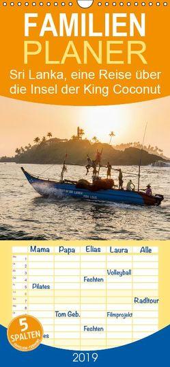 Sri Lanka, eine Reise über die Insel der King Coconut – Familienplaner hoch (Wandkalender 2019 , 21 cm x 45 cm, hoch) von wüstenhagen photography,  mo