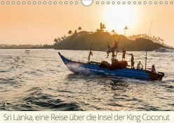 Sri Lanka, eine Reise über die Insel der King Coconut (Wandkalender 2018 DIN A4 quer) von wüstenhagen photography,  mo