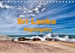 Sri Lanka – Highlights (Tischkalender 2019 DIN A5 quer) von Langenkamp,  Wolfgang-A.
