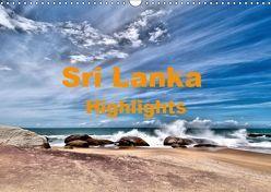 Sri Lanka – Highlights (Wandkalender 2019 DIN A3 quer) von Langenkamp,  Wolfgang-A.