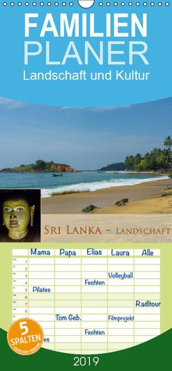 Sri Lanka – Landschaft und Kultur – Familienplaner hoch (Wandkalender 2019 , 21 cm x 45 cm, hoch) von Beuck,  AJ