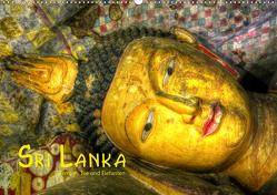 Sri Lanka – Tempel, Tee und Elefanten (Wandkalender 2021 DIN A2 quer) von Stamm,  Dirk