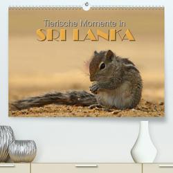 Sri Lanka – Tierische Momente (Premium, hochwertiger DIN A2 Wandkalender 2020, Kunstdruck in Hochglanz) von Matziol,  Michael
