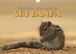 Sri Lanka – Tierische Momente (Wandkalender 2019 DIN A4 quer) von Matziol,  Michael