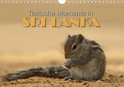 Sri Lanka – Tierische Momente (Wandkalender 2021 DIN A4 quer) von Matziol,  Michael