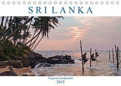 Sri Lanka, tropisches Inselparadies (Tischkalender 2019 DIN A5 quer) von Kruse,  Joana