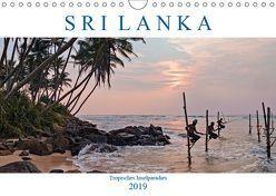 Sri Lanka, tropisches Inselparadies (Wandkalender 2019 DIN A4 quer) von Kruse,  Joana