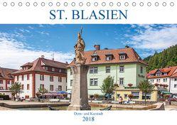 St. Blasien – Dom- und Kurstadt (Tischkalender 2018 DIN A5 quer) von Brunner-Klaus,  Liselotte