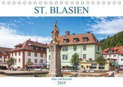 St. Blasien – Dom- und Kurstadt (Tischkalender 2019 DIN A5 quer) von Brunner-Klaus,  Liselotte