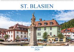 St. Blasien – Dom- und Kurstadt (Wandkalender 2020 DIN A2 quer) von Brunner-Klaus,  Liselotte