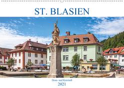 St. Blasien – Dom- und Kurstadt (Wandkalender 2021 DIN A2 quer) von Brunner-Klaus,  Liselotte
