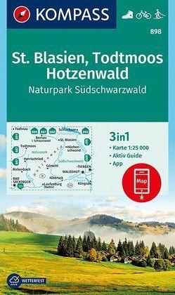 St. Blasien, Todtmoos, Hotzenwald, Naturpark Südschwarzwald von KOMPASS-Karten GmbH