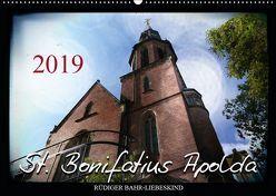 St. Bonifatius Apolda (Wandkalender 2019 DIN A2 quer) von Bahr-Liebeskind,  Rüdiger