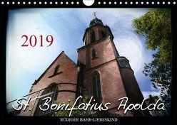 St. Bonifatius Apolda (Wandkalender 2019 DIN A4 quer) von Bahr-Liebeskind,  Rüdiger