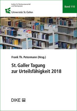 St. Galler Tagung zur Urteilsfähigkeit 2018 von Petermann,  Frank Th