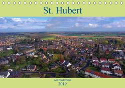 St. Hubert am Niederrhein (Tischkalender 2019 DIN A5 quer) von Hegmanns,  Klaus