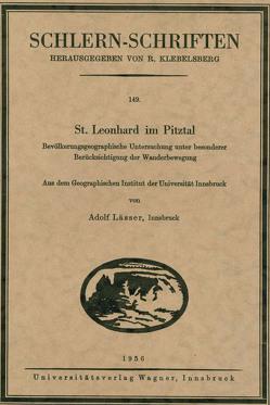 St. Leonhard im Pitztal von Lässer,  Adolf