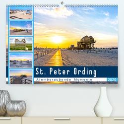St. Peter Ording – Atemberaubende Momente (Premium, hochwertiger DIN A2 Wandkalender 2020, Kunstdruck in Hochglanz) von Dreegmeyer,  Andrea