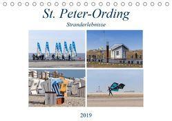 St. Peter-Ording Stranderlebnisse (Tischkalender 2019 DIN A5 quer)