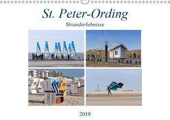 St. Peter-Ording Stranderlebnisse (Wandkalender 2019 DIN A3 quer) von Falke,  Manuela