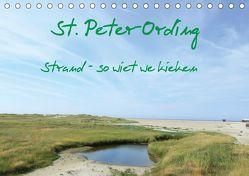St. Peter-Ording (Tischkalender 2019 DIN A5 quer) von Kleverveer