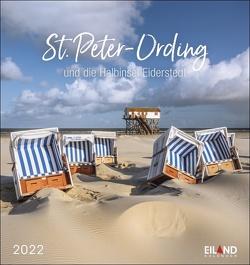 St. Peter-Ording und die Halbinsel Eiderstedt Postkartenkalender 2022 von Eiland