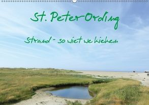 St. Peter-Ording (Wandkalender 2018 DIN A2 quer) von Kleverveer