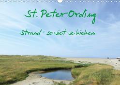 St. Peter-Ording (Wandkalender 2020 DIN A3 quer) von Kleverveer