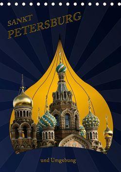 St. Peterburg und Umgebung (Tischkalender 2019 DIN A5 hoch) von Koch,  Hermann