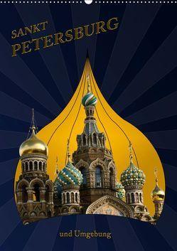 St. Peterburg und Umgebung (Wandkalender 2019 DIN A2 hoch) von Koch,  Hermann
