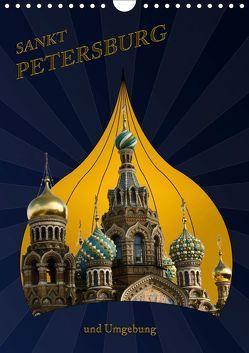St. Peterburg und Umgebung (Wandkalender 2019 DIN A4 hoch) von Koch,  Hermann