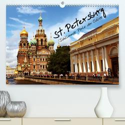 St. Petersburg (Premium, hochwertiger DIN A2 Wandkalender 2020, Kunstdruck in Hochglanz) von le Plat,  Patrick