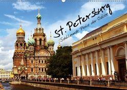 St. Petersburg (Wandkalender 2018 DIN A2 quer) von le Plat,  Patrick
